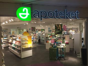 Presentationsbild för referensen Butik Apoteket