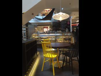 Presentationsbild för referensen Café Börje Olssons Konditorier